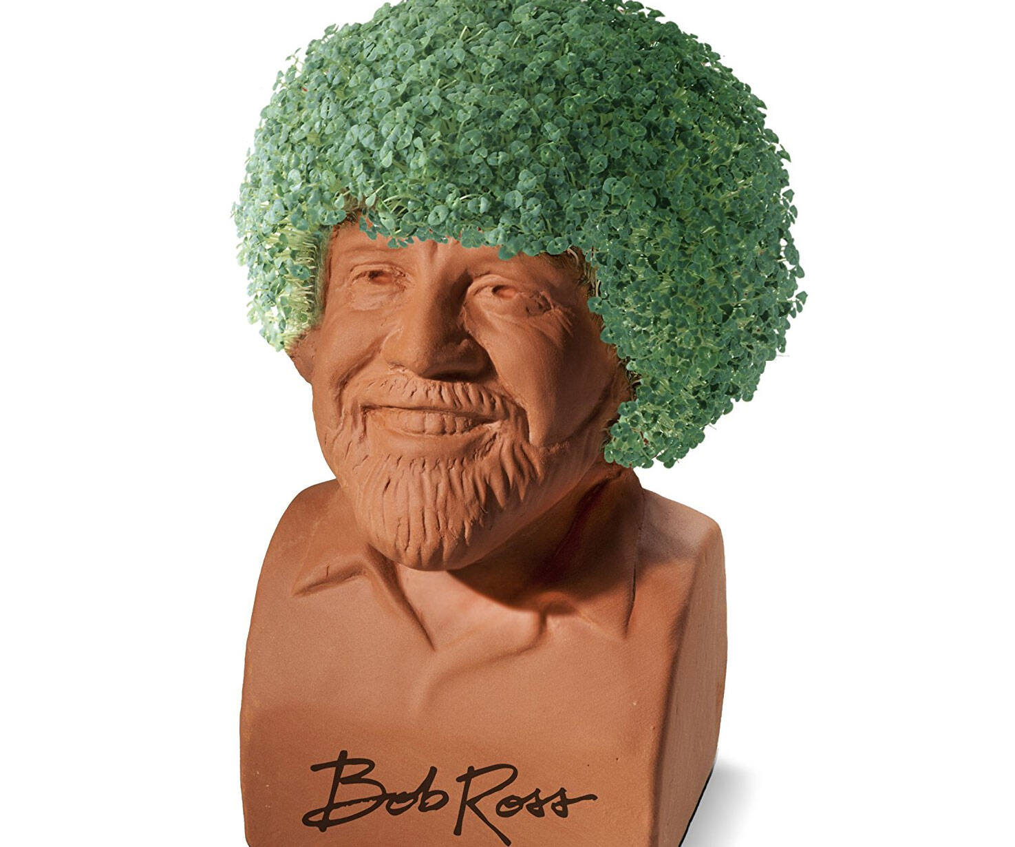 Bob Ross Chia Pet - http://coolthings.us