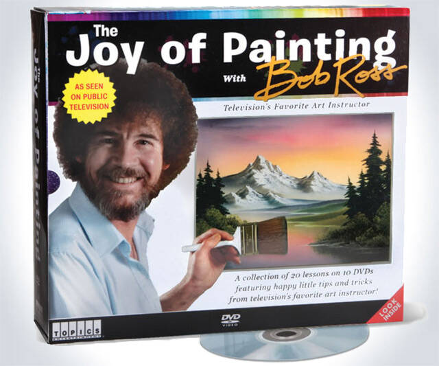 Bob Ross: The Joy of Painting Series - http://coolthings.us