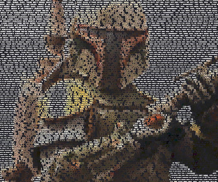 Boba Fett Quotes Mosaic - http://coolthings.us