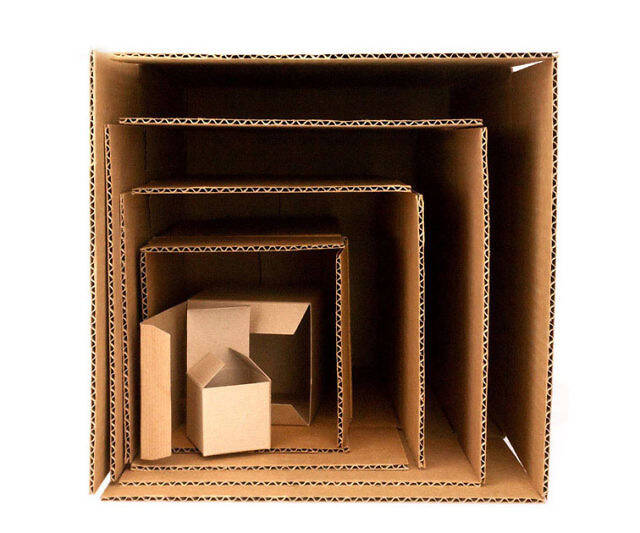 Boxes In Boxes In Boxes Prank Gift Box