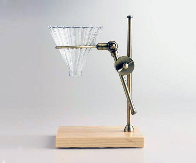 Brass Pour Over Drip Coffee Maker - http://coolthings.us