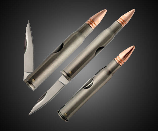 Bullet Knives - http://coolthings.us
