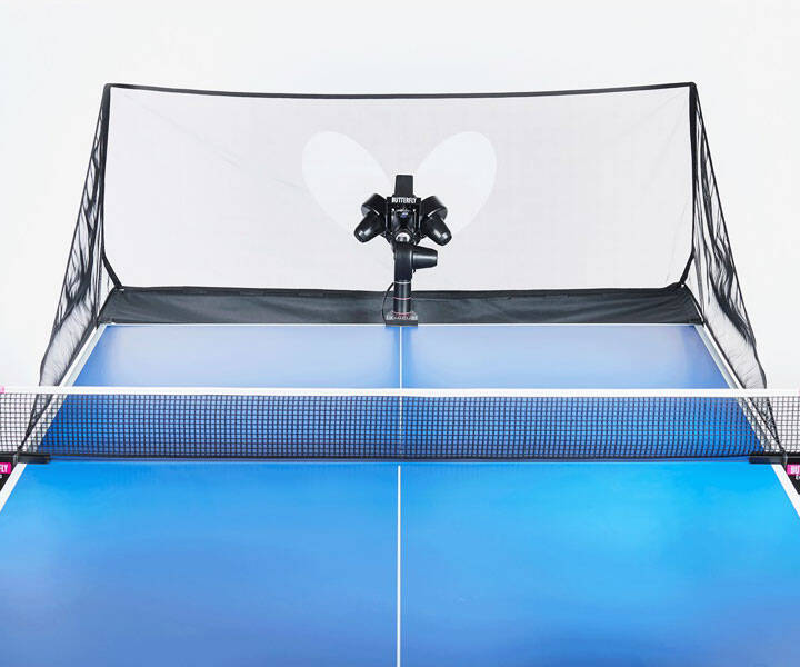 Bluetooth Ping Pong Robot - http://coolthings.us