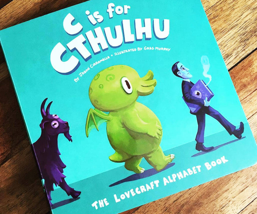 The Lovecraft Alphabet Book - coolthings.us