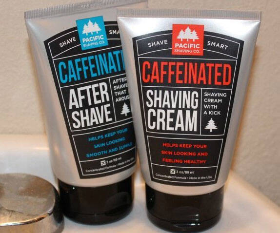 Caffeinated Shaving Cream - http://coolthings.us