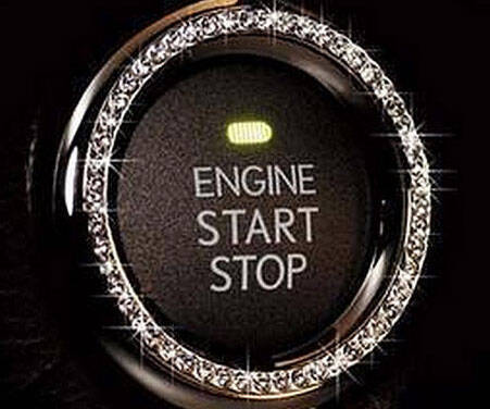 Car Ignition Button Bling - http://coolthings.us