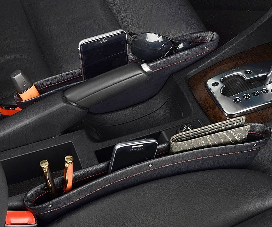 Car Seat Caddy - http://coolthings.us