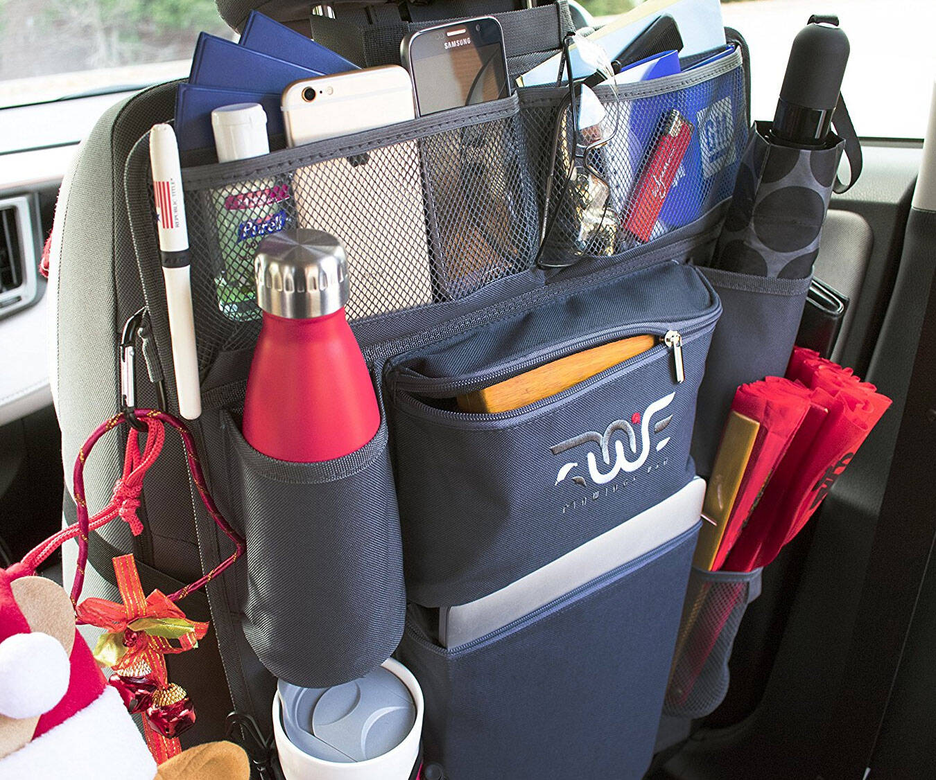 Ultimate Car Seat Organizer - http://coolthings.us