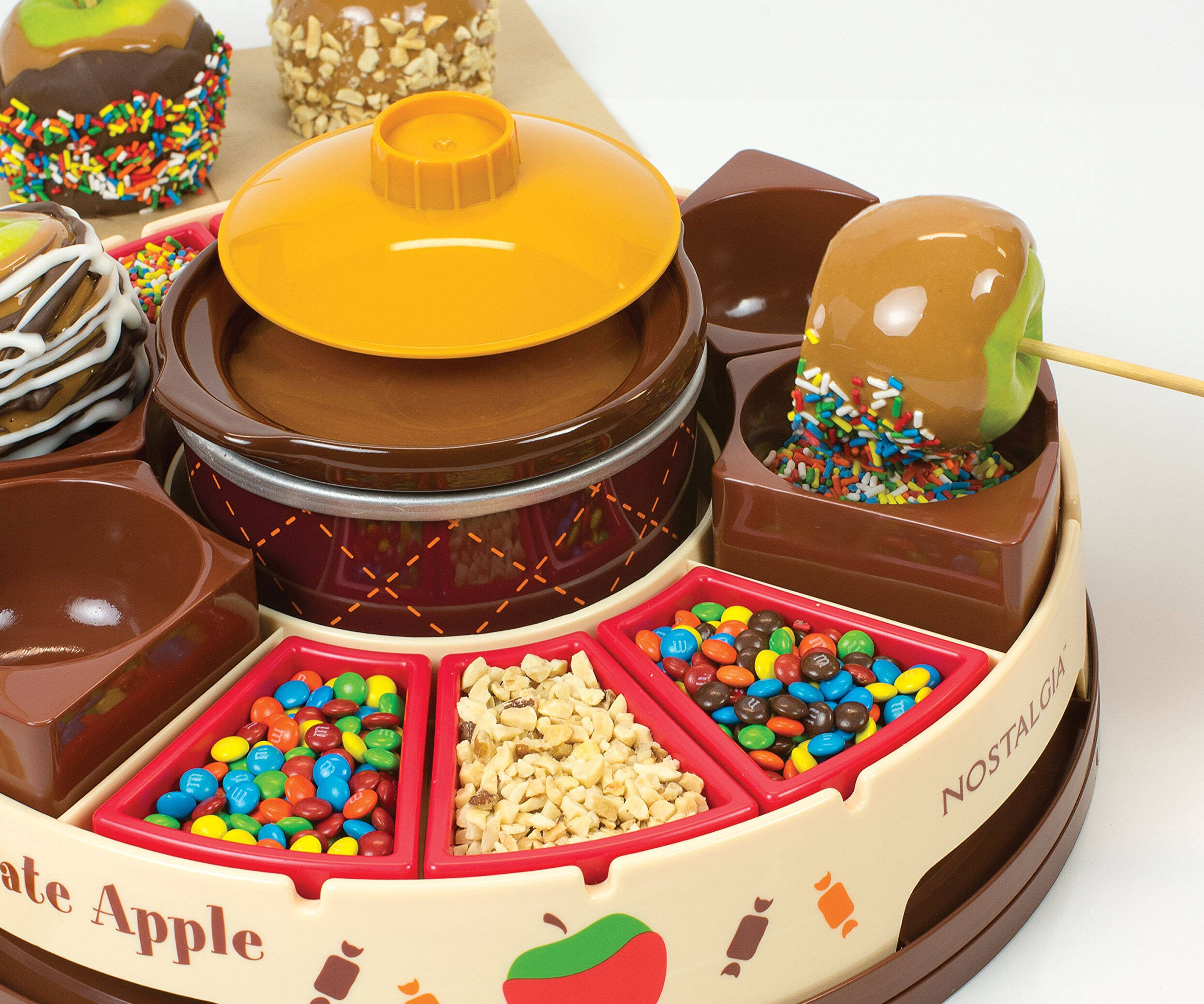 Caramel Apple Topping Station - http://coolthings.us