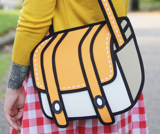 Cartoon Bags - http://coolthings.us