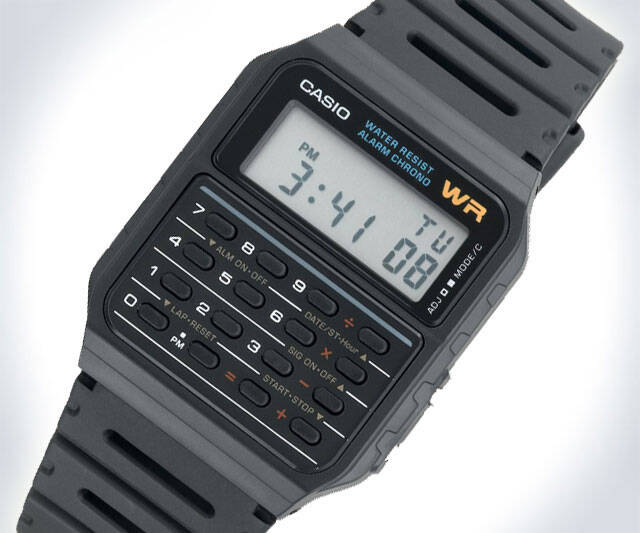 Calculator Watch - http://coolthings.us