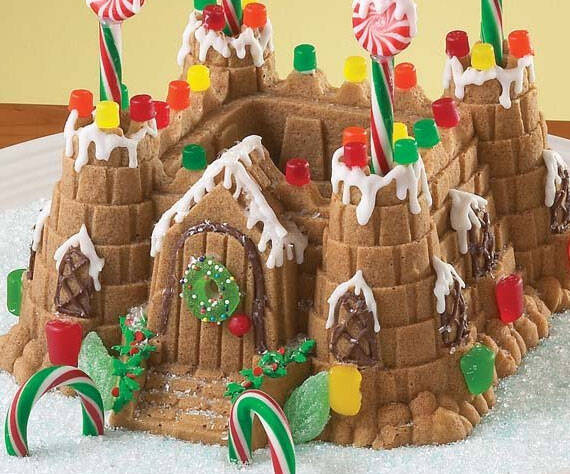 Castle Cake Mold - http://coolthings.us