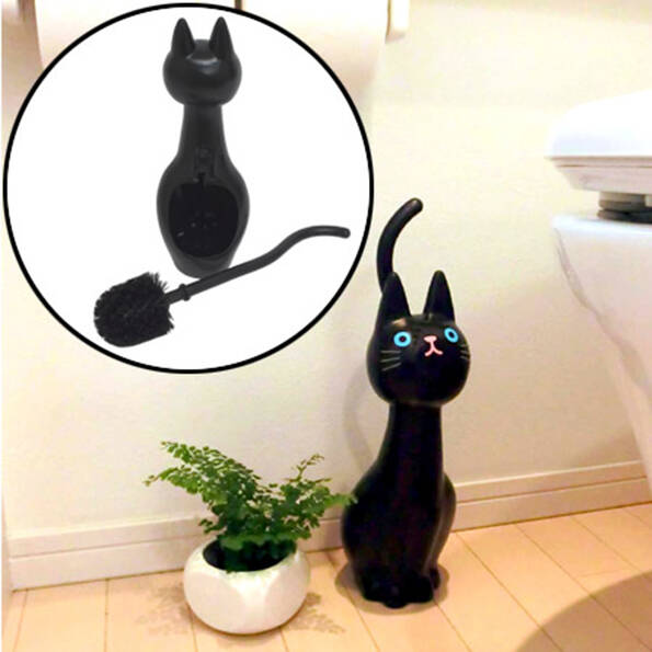 Cat Toilet Brush - http://coolthings.us