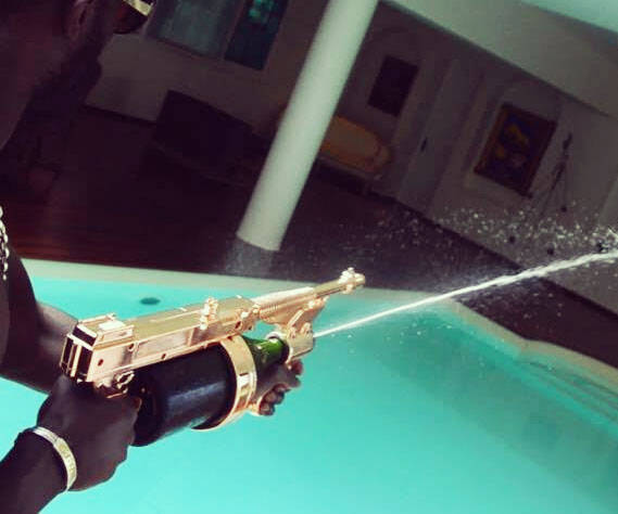 Champagne Machine Gun - http://coolthings.us