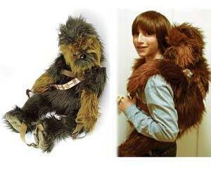 Star Wars Chewbacca Backpack - http://coolthings.us