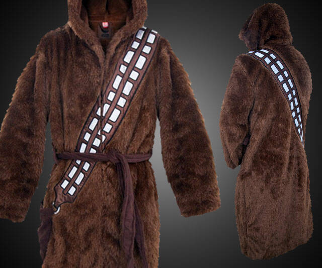 Chewbacca Bathrobe - http://coolthings.us