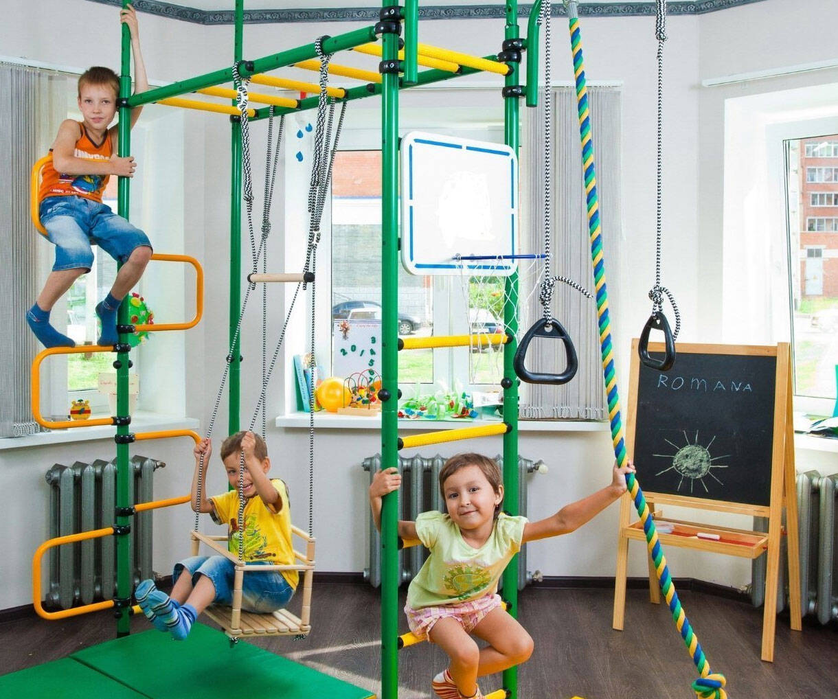 Children's Indoor Playground - http://coolthings.us