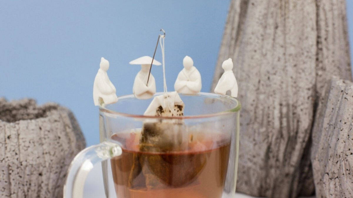 Chinese Fisherman Tea Bag Holders - http://coolthings.us