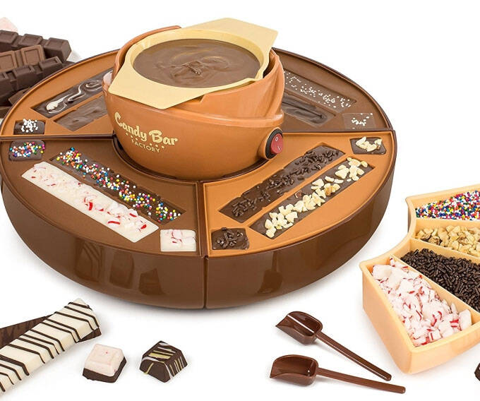 Chocolate Candy Bar Maker - coolthings.us