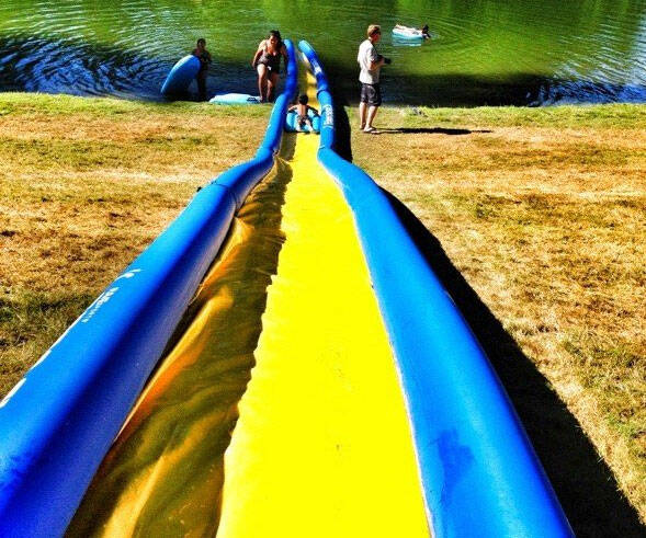 Turbo Chute Water Slide - http://coolthings.us