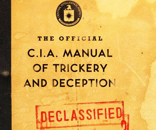 CIA Manual Of Trickery And Deception - http://coolthings.us