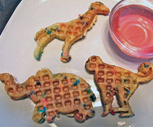 Circus Animal Waffle Maker - http://coolthings.us