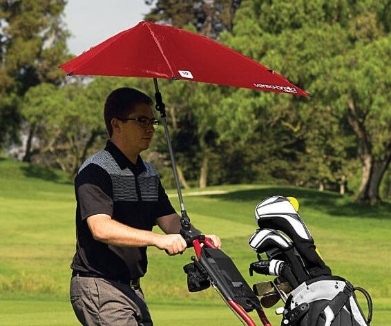 Clampable Umbrella - http://coolthings.us