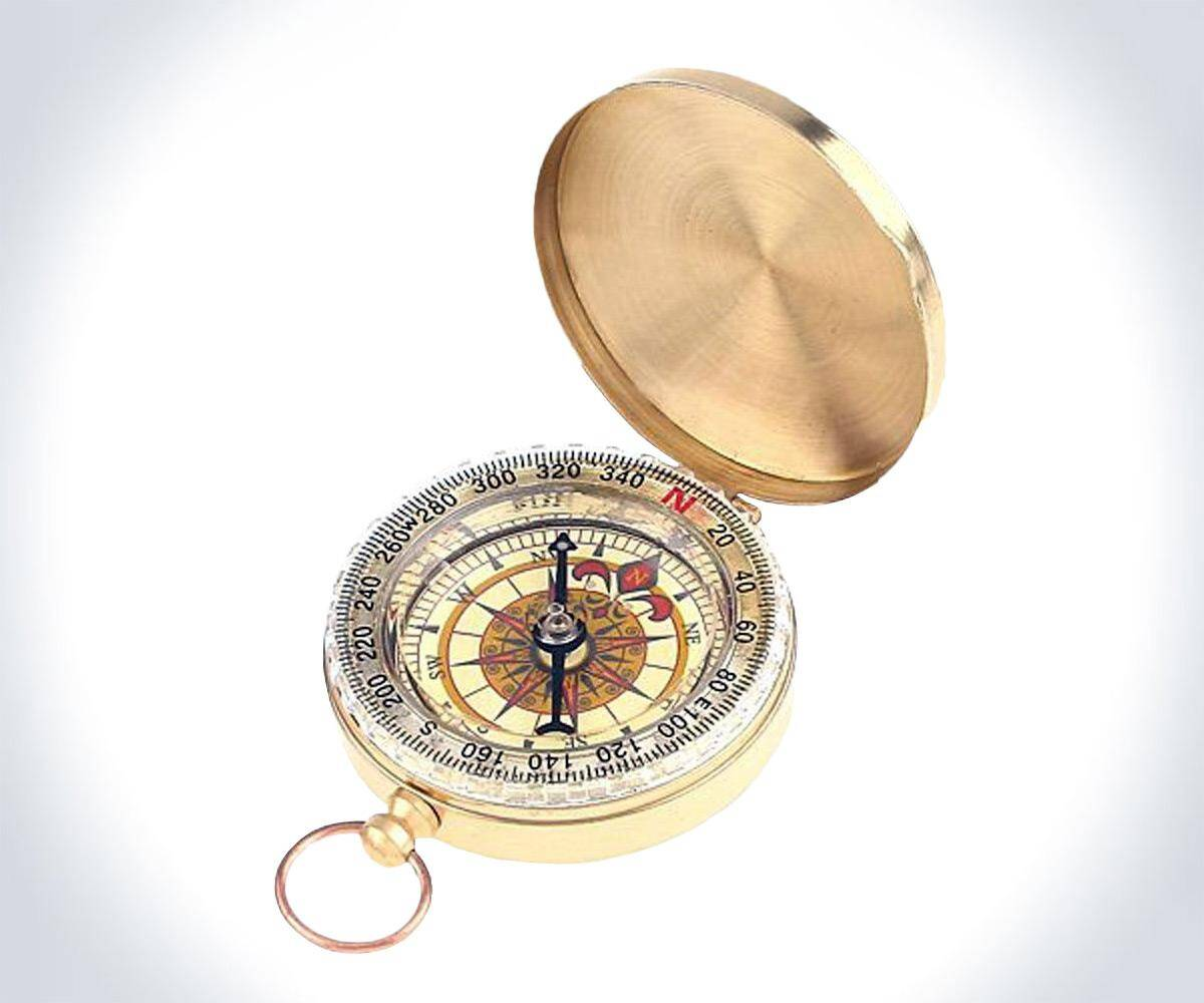 Classic Pocket Camping Compass - http://coolthings.us