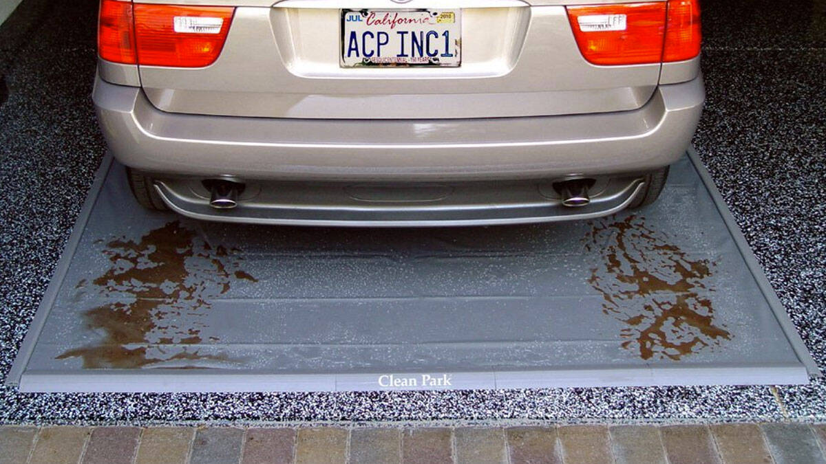 Automobile Drip Mat - http://coolthings.us