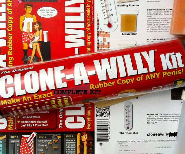 Clone A Willy Kit - http://coolthings.us