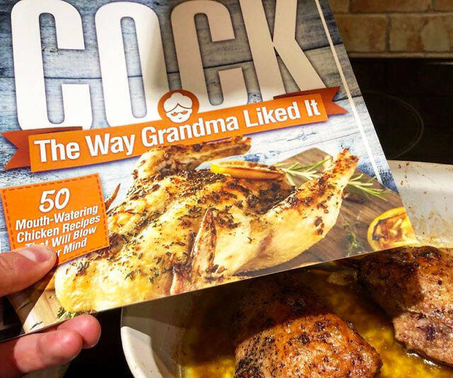 Cock, The Way Grandma Liked It - http://coolthings.us