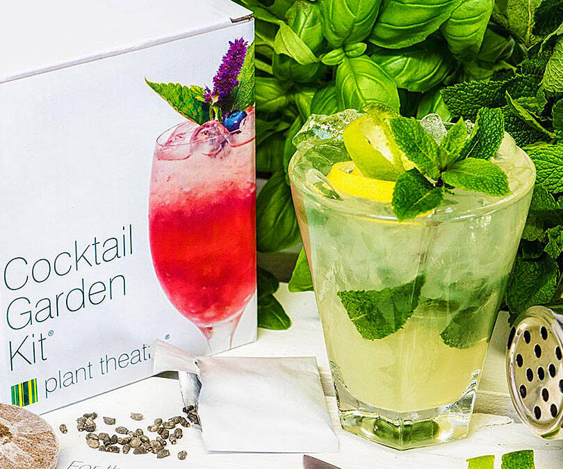 Cocktail Garden Kit - http://coolthings.us