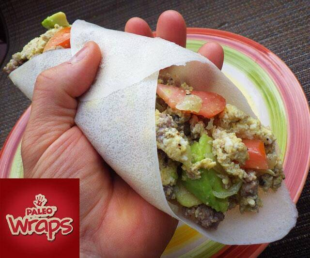 Coconut Wraps - http://coolthings.us