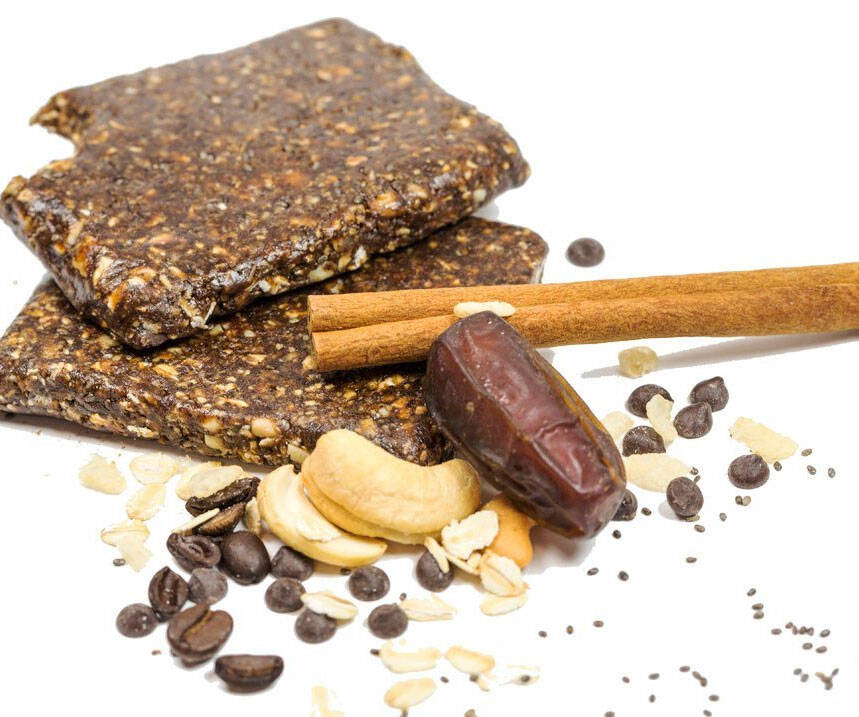 Coffee Infused Energy Bars - http://coolthings.us