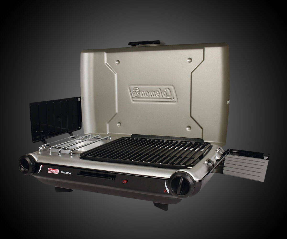Coleman PerfectFlow InstaStart Grill Stove - http://coolthings.us