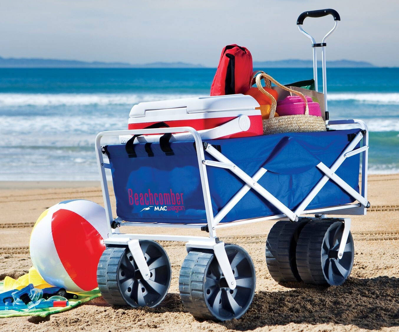 Collapsible Beach Wagon - http://coolthings.us