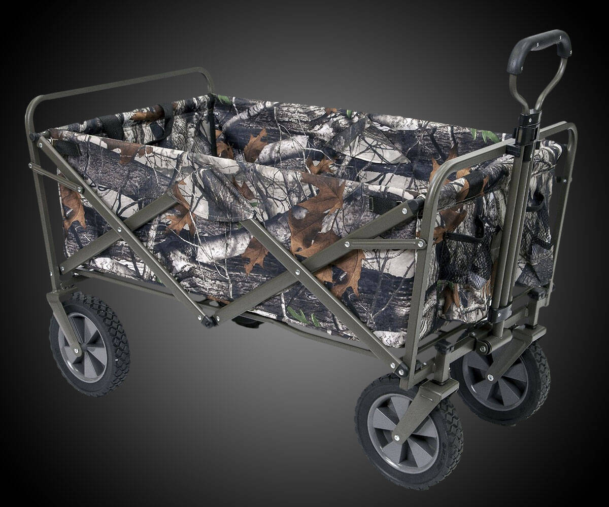 Collapsible Folding Utility Wagon - http://coolthings.us