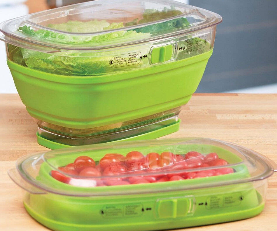 Collapsible Produce Keeper - coolthings.us