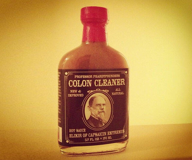 Colon Cleaner Hot Sauce - coolthings.us