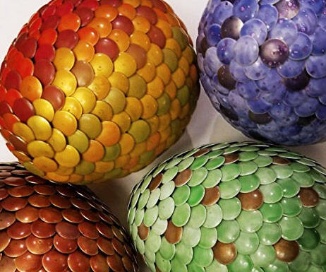 Color Changing Magical Dragon Eggs - http://coolthings.us