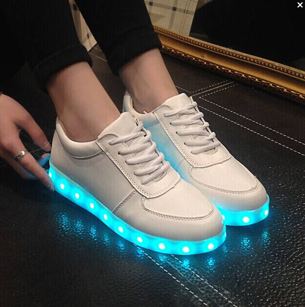 Colorful LED Light Up Shoes - http://coolthings.us