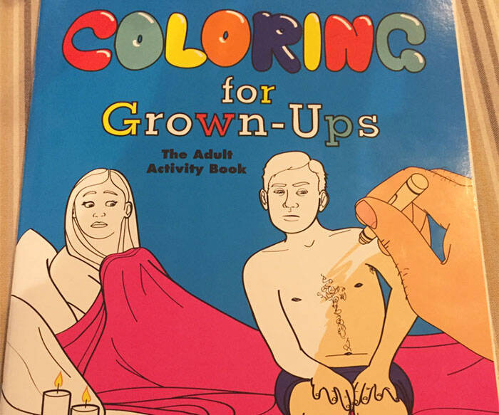 Coloring Book For Grown-Ups - http://coolthings.us