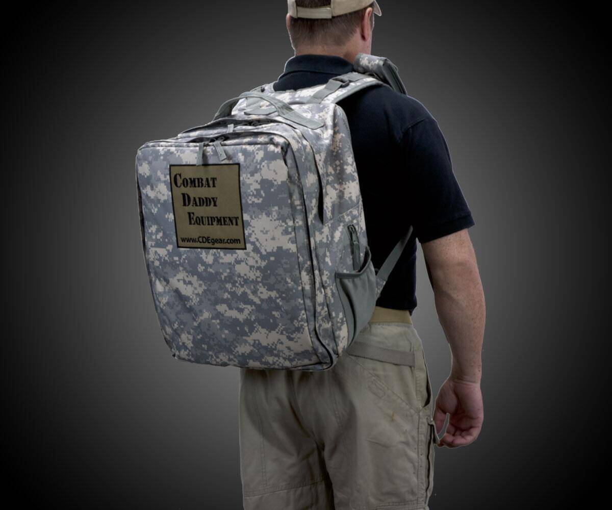 Combat Daddy Equipment Diaper Bag - http://coolthings.us