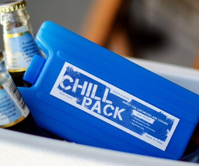 Hidden Flask Ice Pack - http://coolthings.us