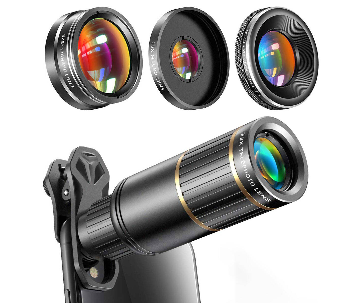 Super Wide Angle Phone Camera Lens