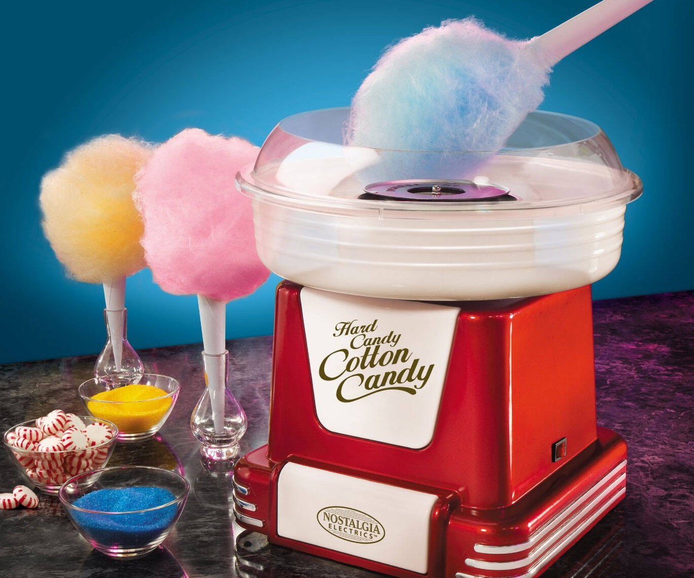 Mini Cotton Candy Machine - http://coolthings.us