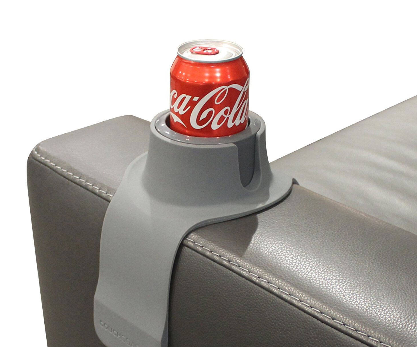 Weighted Couch Cup Holder - http://coolthings.us