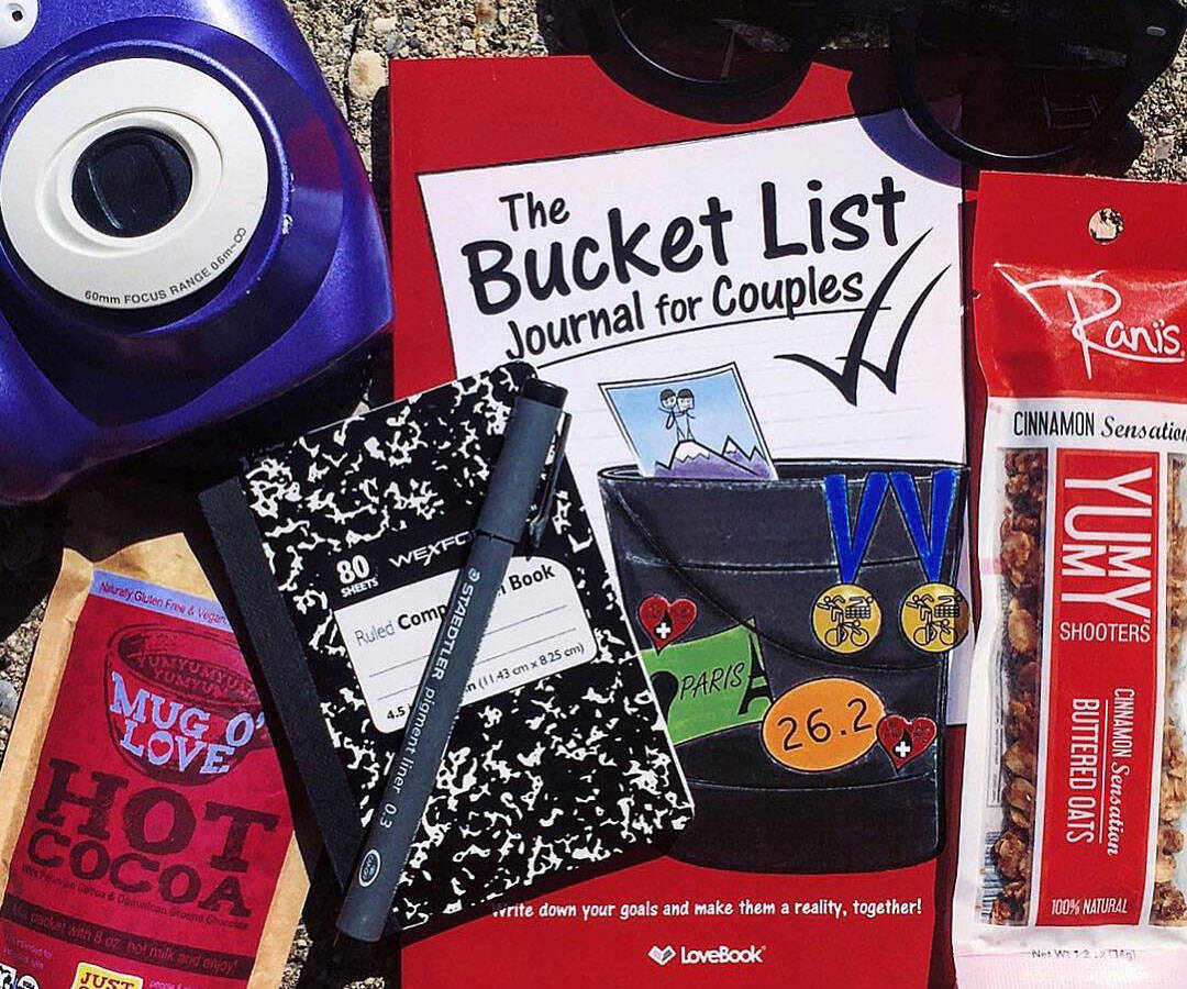 The Bucket List Journal For Couples - http://coolthings.us