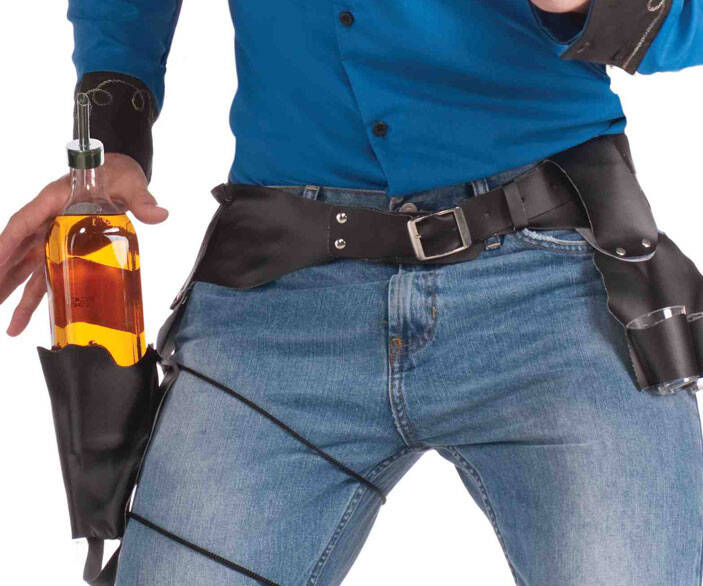 Cowboy Drink Slinger Holster - http://coolthings.us