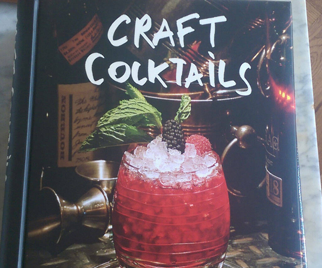 Craft Cocktails Book - http://coolthings.us